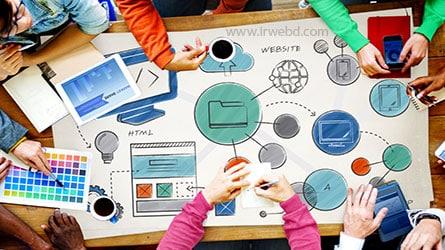 طراحی سایت در کرج با رابط وب