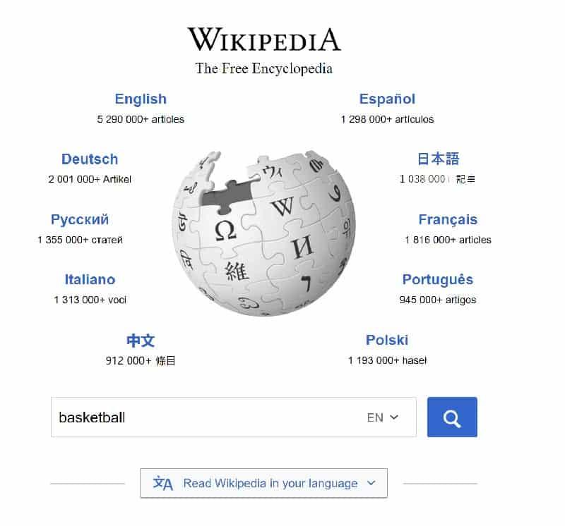 فهرست کلمات و موضوعات مرتبط ویکی پدیا
